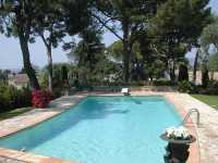 France private villa with  pool  for rent Antibes