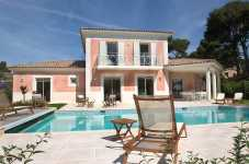 France villa for rent Antibes