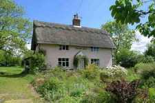 Grade II listed thatched farm house cottage for sale Norwich Norfolk East Anglia England UK