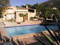 private family villa for rent Andratx