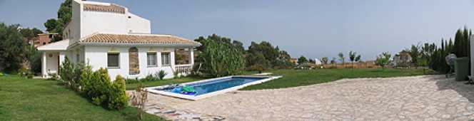 Mijas villa rental with pool