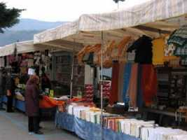 Local Tuscany market