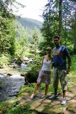 Walking holiday in the Alps