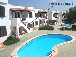 Menorca holiday rental apartment wuth pool