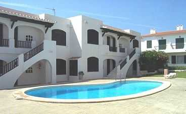 Menorca holiday rental apartment with pool