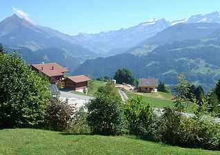 Vaud Alps rental ski chalet for Winter and Summer holidays