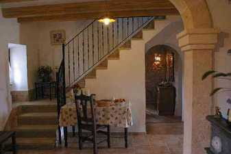 Villa rental stairs