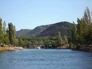 River front holiday rental property with its own mooring in South of France, La Napoule