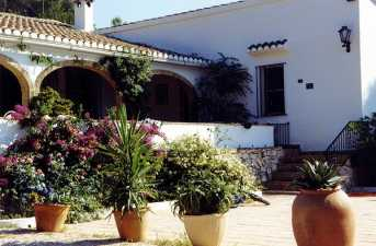 Costa Blanca Villa For rental in Javea and Denia