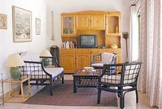 The casita living area