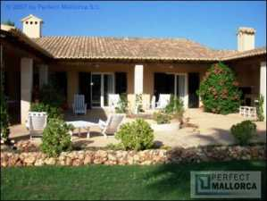 Majorca east coast  Spain Hacienda style villa for up to 10 persons For Sale