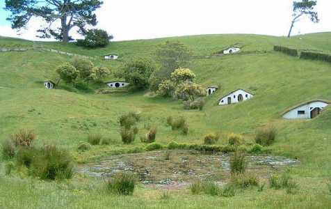 Hobbiton pictures MataMata Lord of the Rings film locations