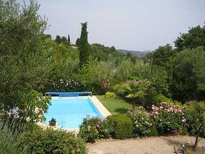 Villa to rent in hilltop village, South of France.