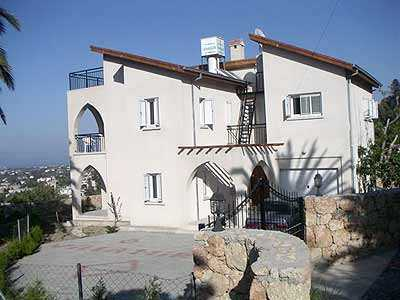 Luxury holiday villa rental with pool in Lapta Northern Cyprus
