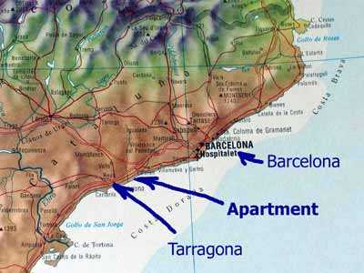 Costa Dorada apartment for rental in Tarragona