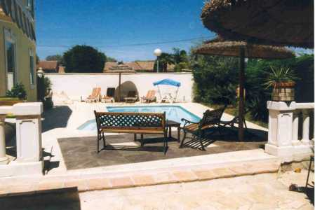 Juan les Pins for rent with pool French riviera