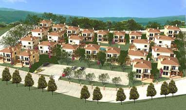 Orange Valley Turkey villas for sale