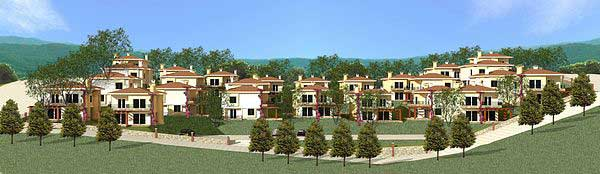 New complex of holiday villas for sale in Turkey near Izmir