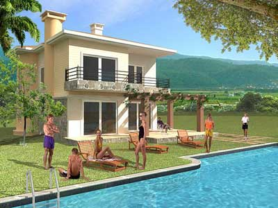 Western Coast Turkey villa for sale