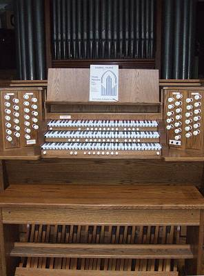 Makin organ at Hammerwood Park from Londonderry Cathedral